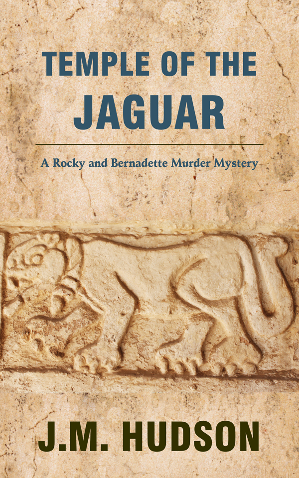 Temple of the Jaguar by JM Hudson cover